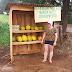 Venda de melão com autoatendimento: quitanda chama atenção no Sudoeste do PR