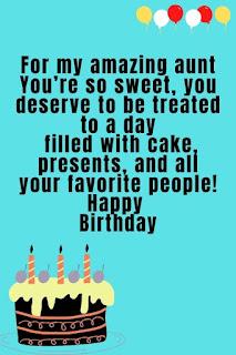 birthday wishes for aunty ji