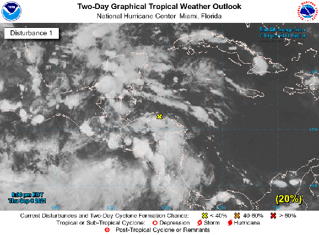 Fin de semana: Lluvias muy fuertes a intensas en el norte, centro y noroeste de Yucatán