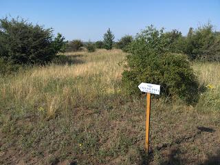 Региональный ландшафтный парк «Клебан-Бык». Указатели направлений
