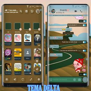 Road Theme For YOWhatsApp & Delta WhatsApp By Ale
