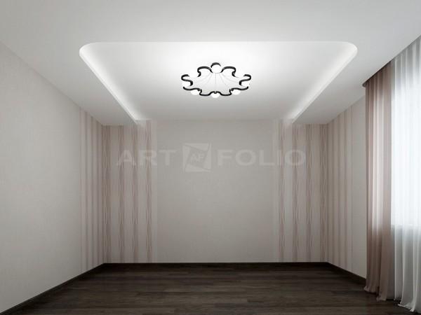 Потолки с гротовой подсветкой