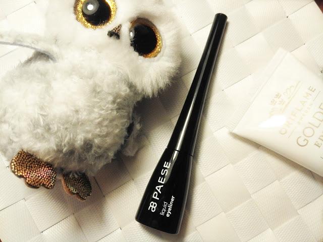 Bardzo ciekawy eyeliner - Paese. Nie rozmazuje się przy zmywaniu!
