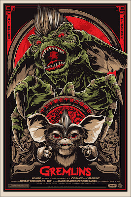 Gremlins Standard Edition Screen Print by Ken Taylor