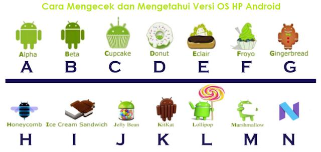 Cara Mengecek dan Mengetahui Versi OS HP Android