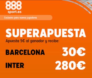 888sport superapuesta champions Barcelona vs Inter 2 octubre 2019