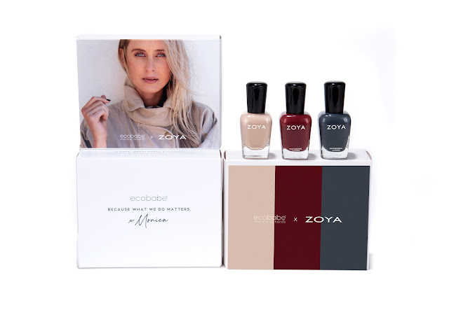 Zoya x EcoBabe Limited Edition Trio