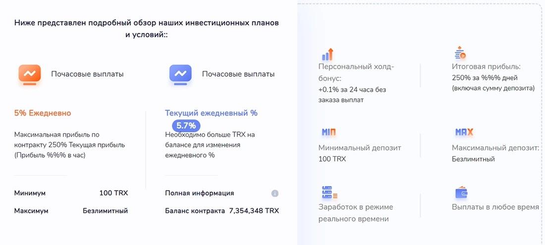 Инвестиционное предложение TronProm
