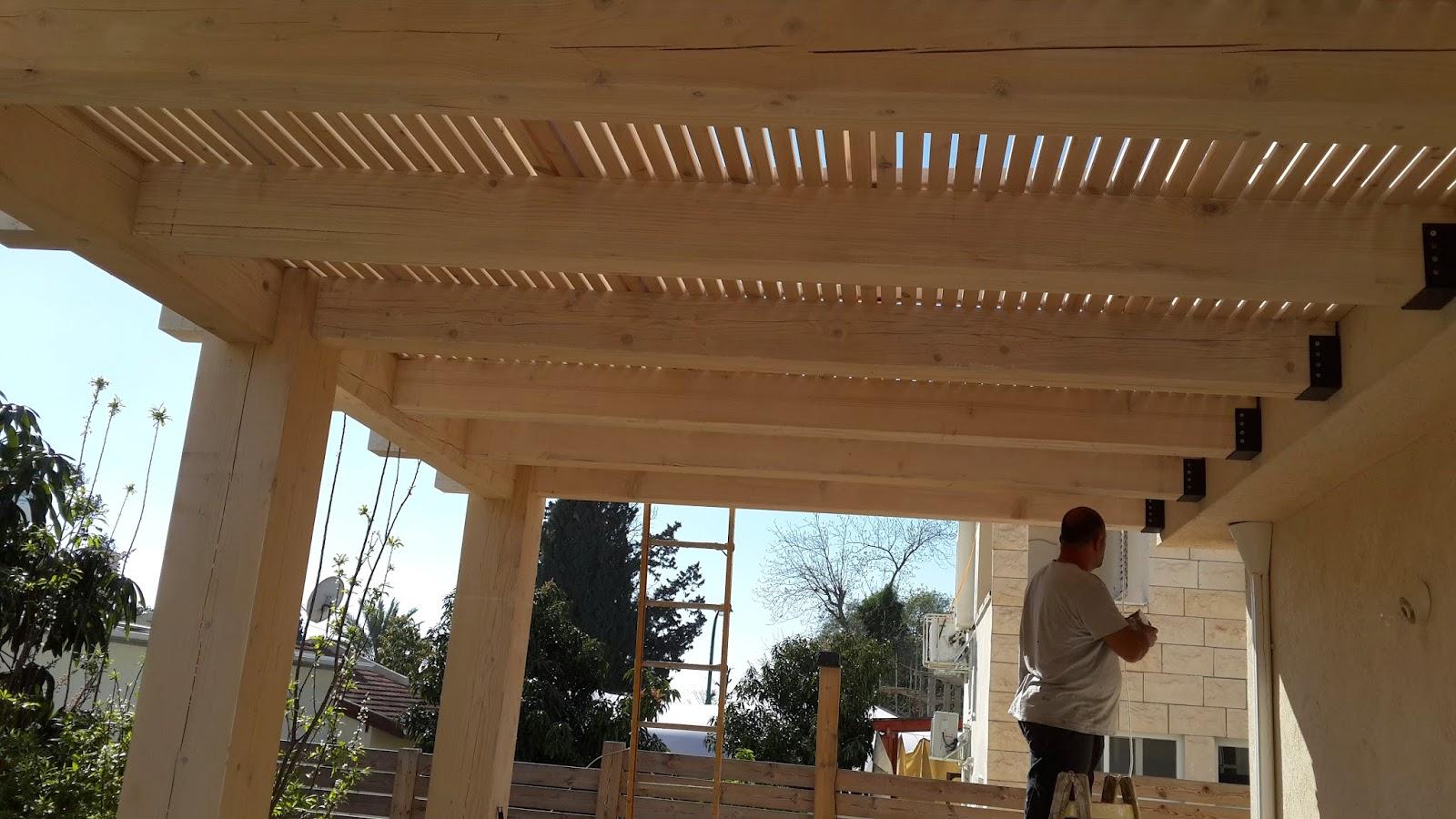 בניית פרגולות עץ