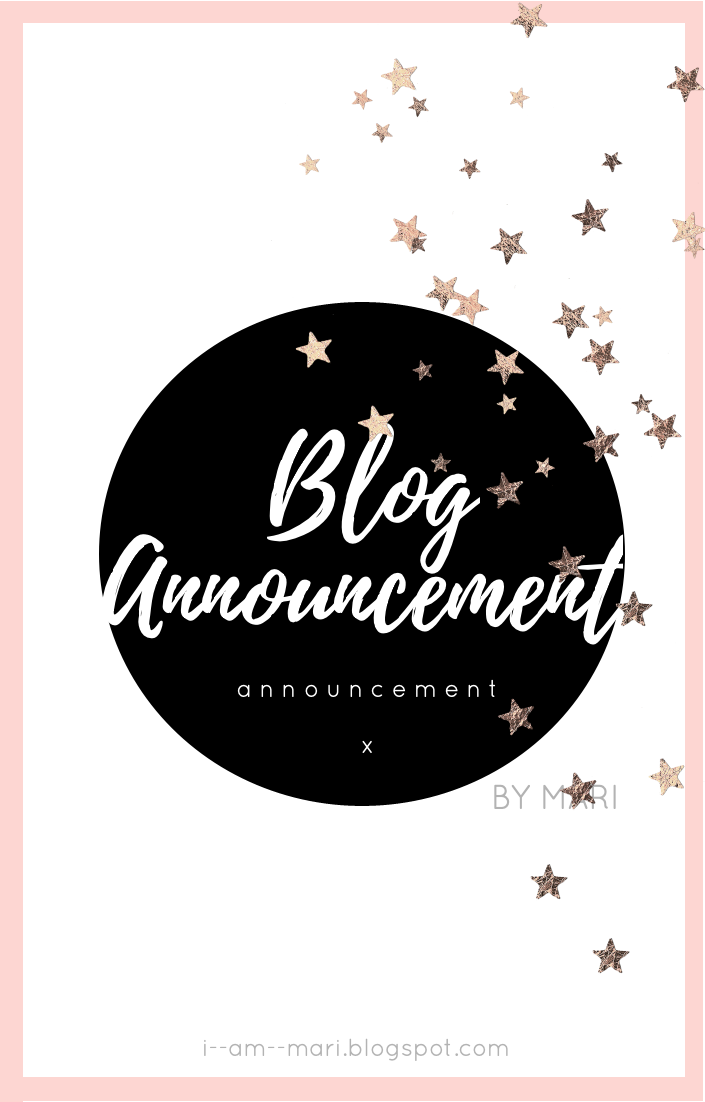 Blog Announcement