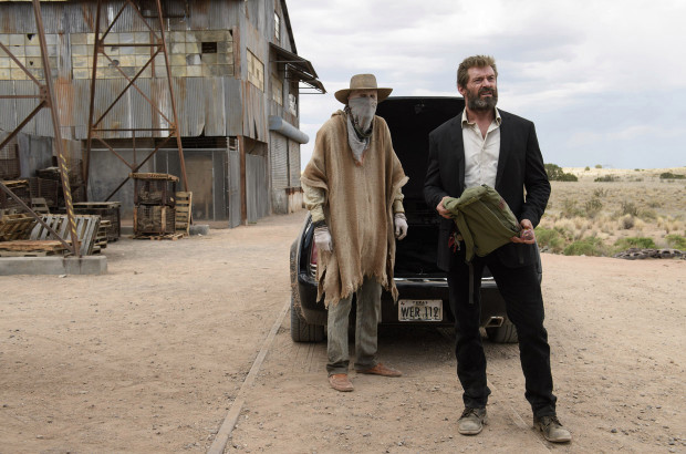 Caliban and Logan from Logan (movie)