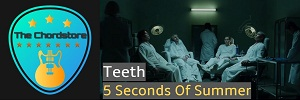 5 Seconds Of Summer - TEETH Guitar Chords (Easier)