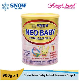 snow neo baby rumusan bayi 0-12 bulan