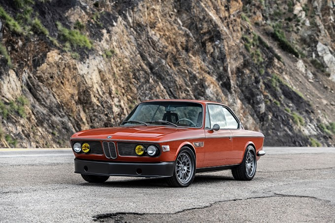 1974 BMW 3.0 CS With An M5 Engine