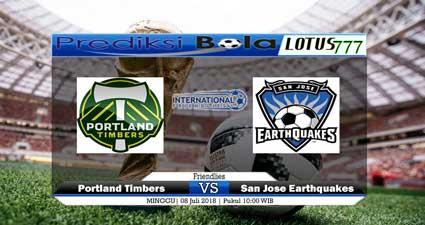 Prediksi Portland Timbers vs San Jose Earthquakes 8 Juli 2018