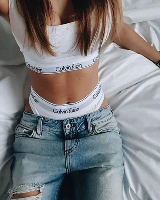 Fotitos tumblr en ropa interior coquetas
