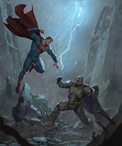 ¿Quién gana el combate, Batman o Superman?