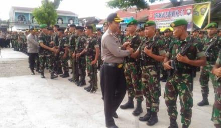 Ratusan Personel TNI Ditempatkan Di Empat Lawang