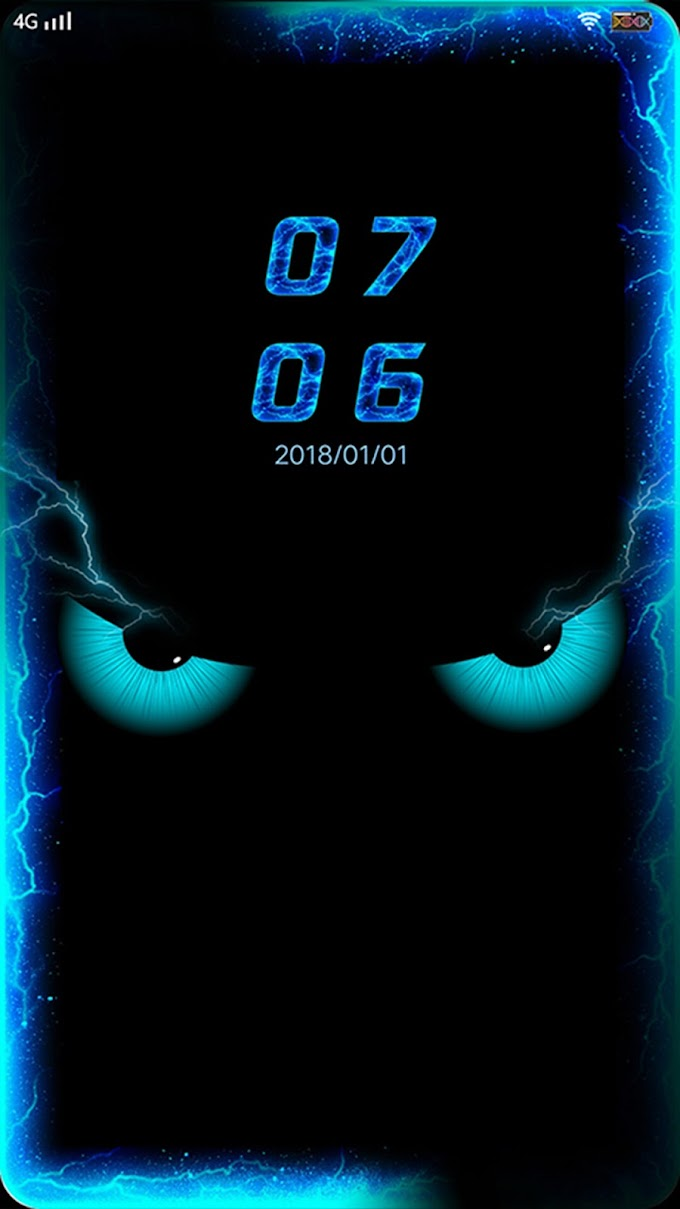 Neon Eyes Theme itz For Vivo