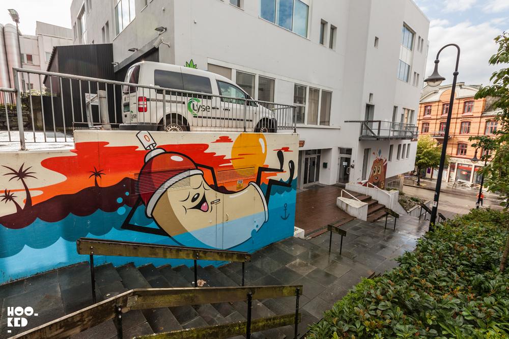 Stavanger Street Art - Dabs & Myla Mural