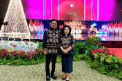Dihadiri Presiden Jokowi, Gubernur Olly dan Istri Ikuti Perayaan Natal Nasional 2019