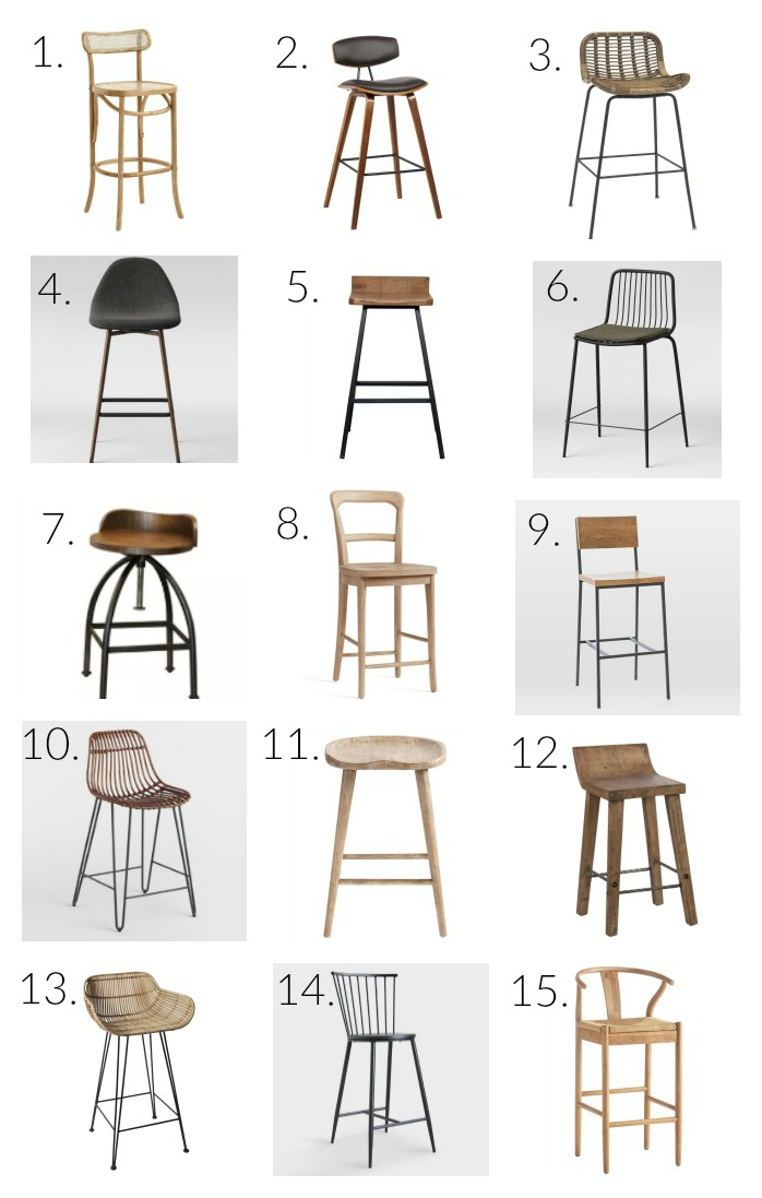 kitchen stools, kitchen counter stools