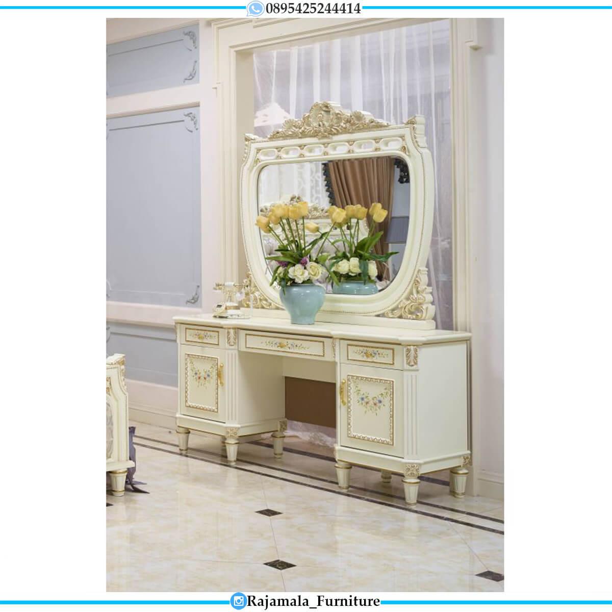 Beautiful Style Meja Rias Ukir Jepara Luxury Carving Classic Mewah RM-0587