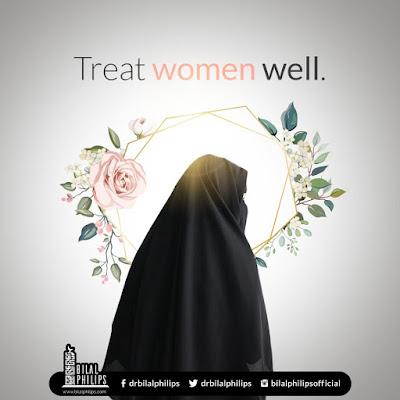 Women's rights in Islam - Treat women well