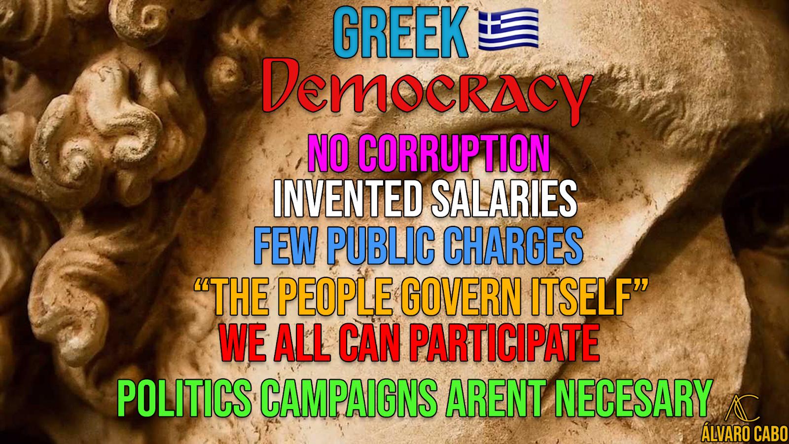 Mi país a través de mis ojos ©: Why we don't live in Democracy