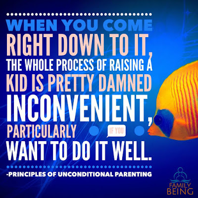 When One Parent is Behaving Badly