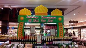 Dekorasi Ramadhan di Toko dari Styrofoam