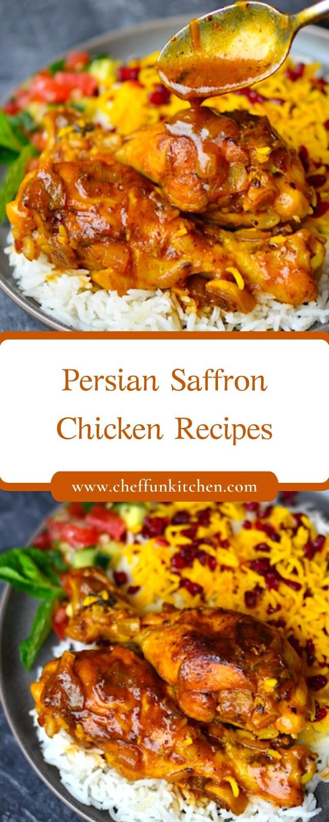 Persian Saffron Chicken Recipes