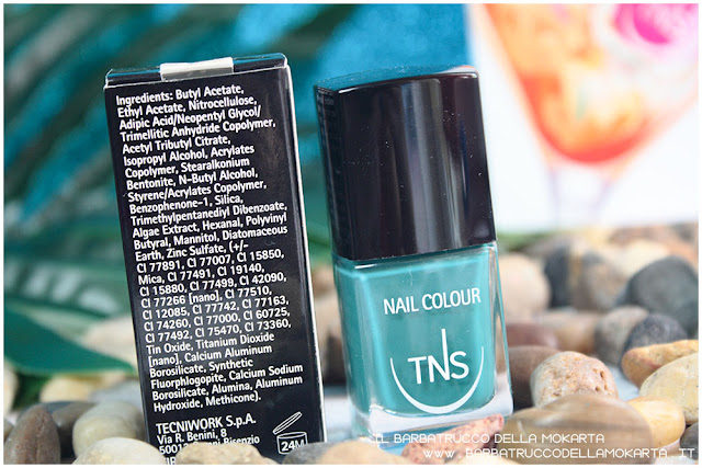 beach club collection TNS cosmetics review inci