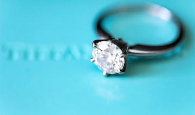 Anillo de compromiso con diamante