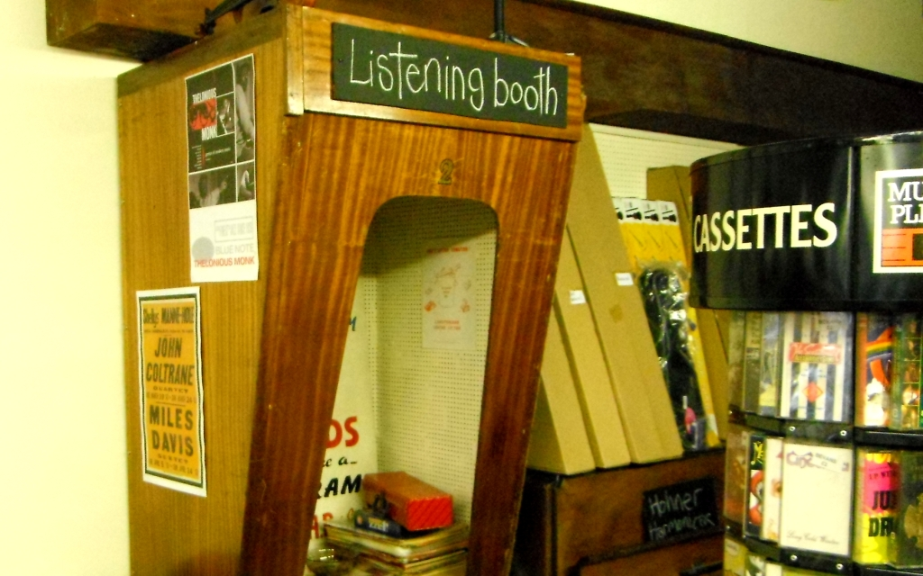Sofa Back Staffordshire Photo: Sixties Record Shop Lives On