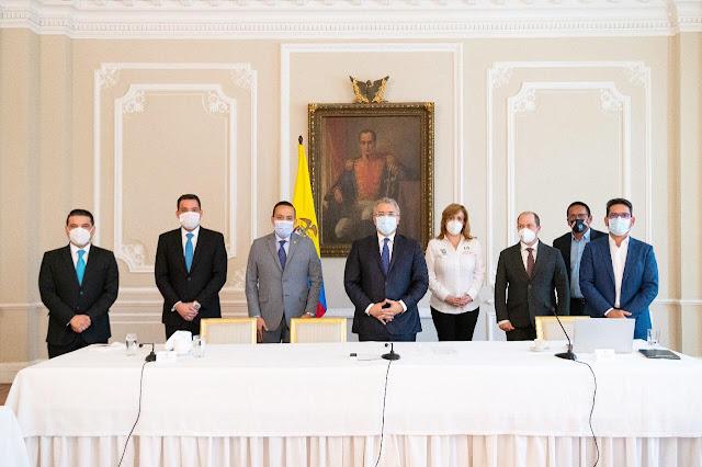 hoyennoticia.com, Acuerdo entre Duque y gobernadores para reformar el SGR