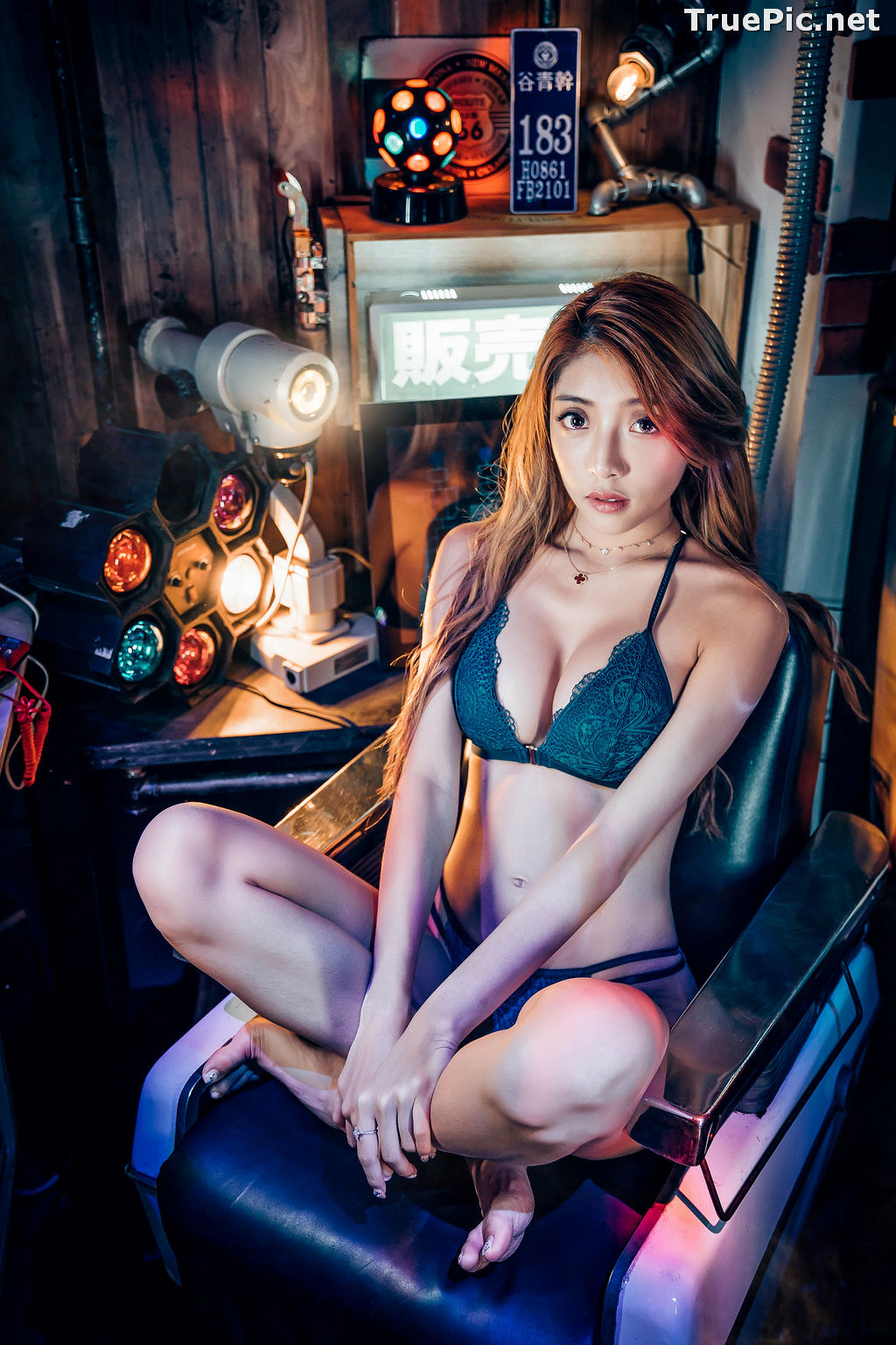 Image Taiwanese Model - 蘿拉Lola - Welcome To My Lingerie Show - TruePic.net - Picture-9