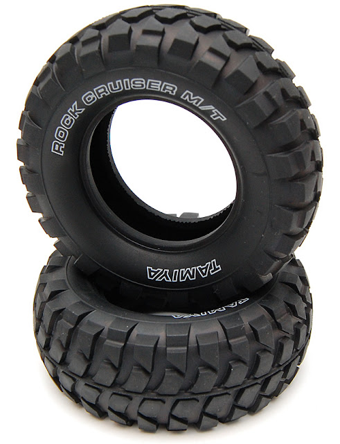 Tamiya High Lift rock cruiser tires