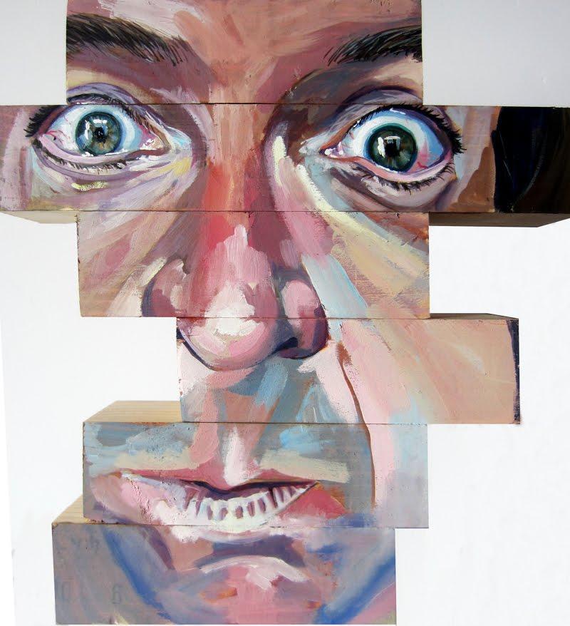Block Art by Cristina Céspedes Bracho.