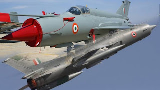 राजस्थान के सूरतगढ़ में वायुसेना का मिग-21 क्रैश, पायलट सुरक्षित, जांच के आदेश