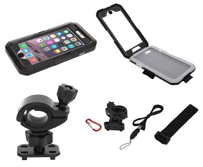 funda impermeable iPhone 6 soporte bicicleta