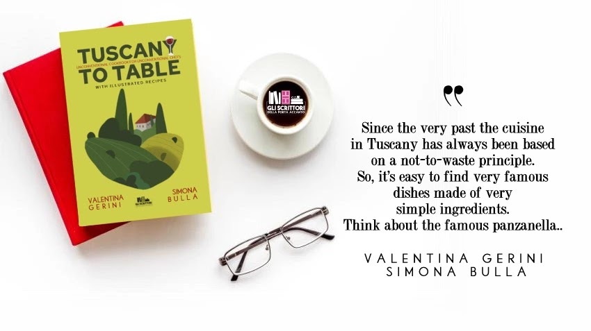 Tuscany to table, un ricettario illustrato di Valentina Gerini e Simona Bulla