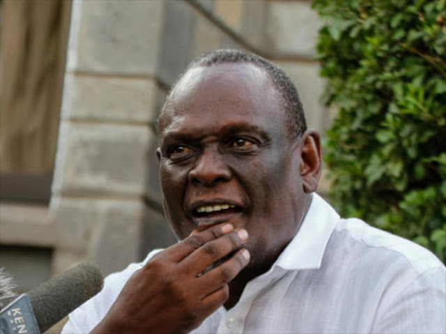 Jubilee Vice Chairman David Murathe
