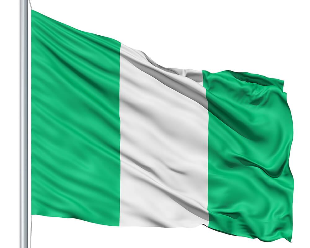 High Resolution Nigerian Flag