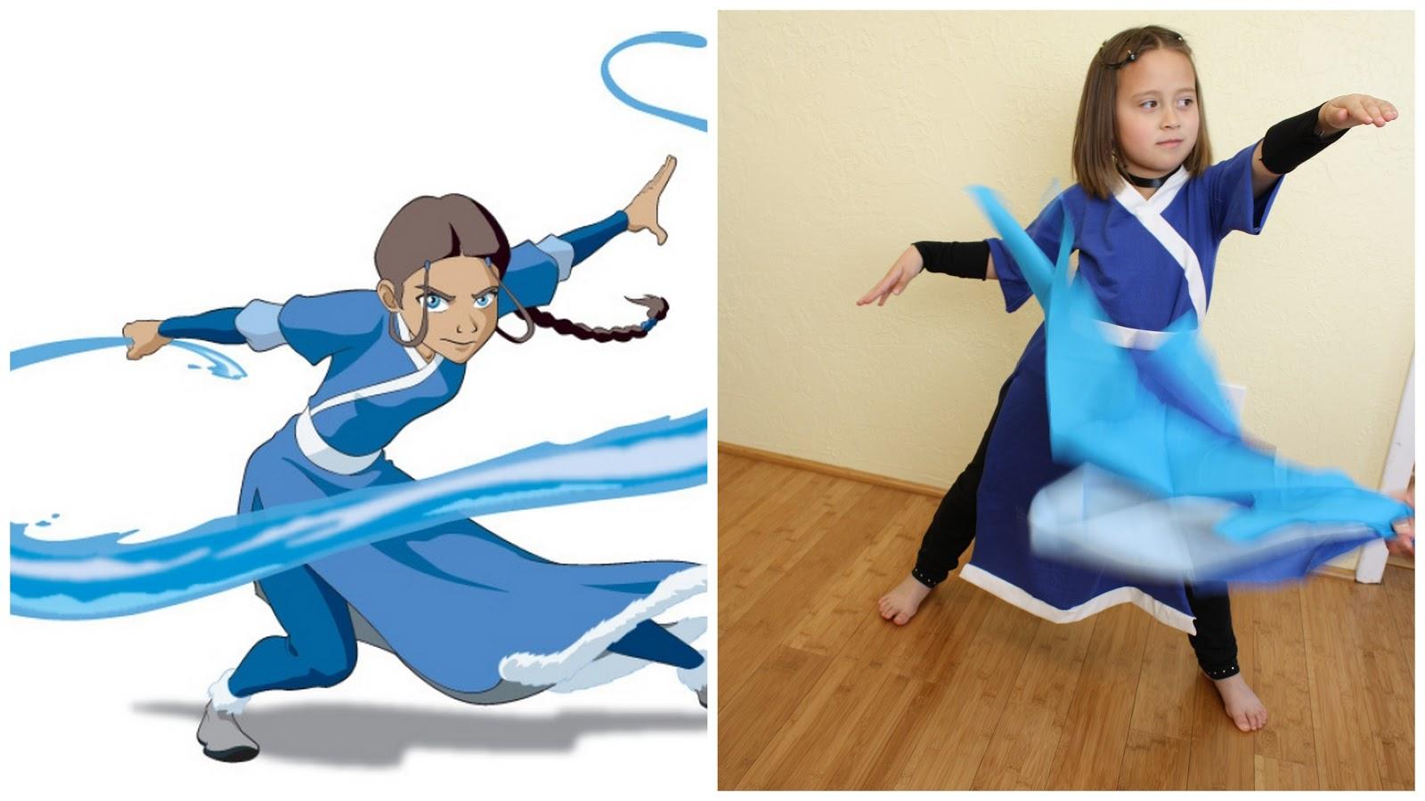 Avatar Waterbender Costume , Rae Gun Ramblings
