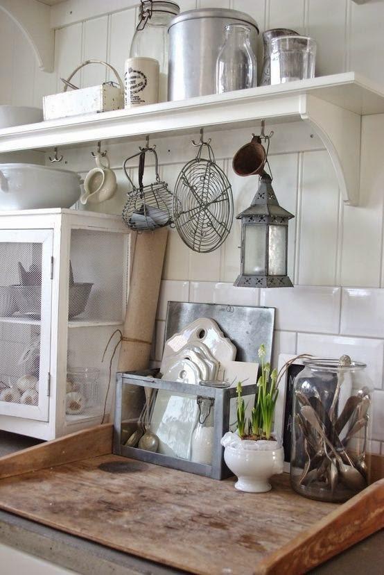 Shabby Chic Con Amore - Casa Shabby Chic.: Idee di cucina Shabby Chic nel mio appartamento.