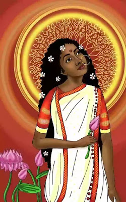Symbol of Flowers:- In the play Amal ask Sudha for a flower, which may be seen as a symbol of life and vitality. Sudha here symbolises freshness, fully free to live according to one's own choice. She makes a call to Amal to know her name properly, whitch symbolically maybe suggested the need for purity to be acquainted with freshness.