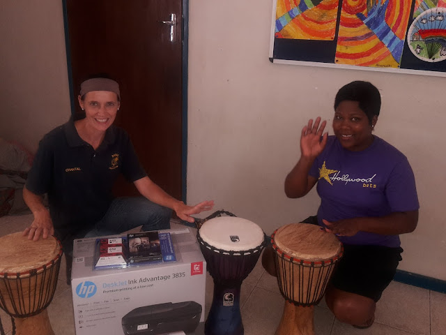 DASHA Foundation - Hollywoodbets Nelspruit - Donation - Drums