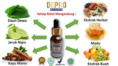 kandungan komposisi depro enzyme nasa