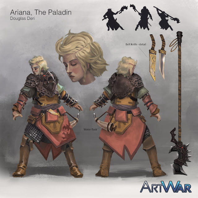 artwar, douglas deri, deri, art, fineart, oil, character studies, character paint, paint,character,character design, expressions , tutorial, brush, conceptart, art, concept, paladin, ded, dungeuns and dragons, gameart, game, contest,cubebrush, girl, amazing paint, wow, xxx, erotic